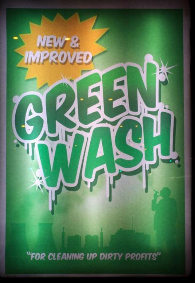 Washing the Greenwash